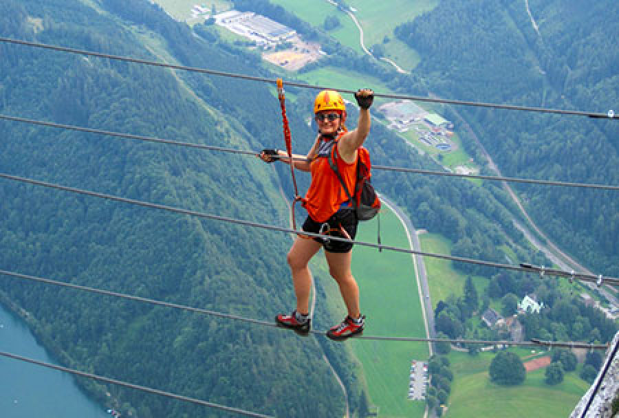 Klettersteig Innsbruck : Der kaiser max klettersteig bei innsbruck