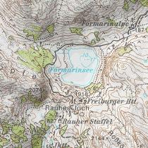 Österreichische Karte ÖK 50