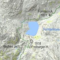 Karte Mountainbike Vorarlberg
