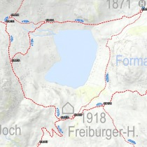 Wanderkarte Vorarlberg